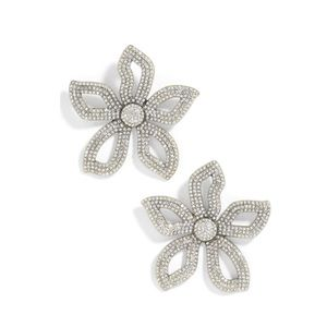 BaubleBar Priminina flower earrings (worn once)